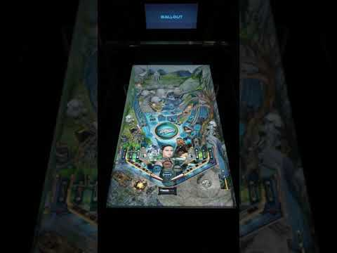 Arcade1up Star Wars Pinball Ahch-To-Island Gameplay from Kevin F