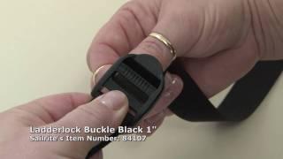 Webbing Ladderlock Buckle