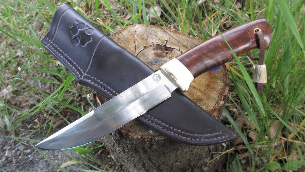 95Х18. Самодельный нож для охотника/Homemade hunting knife, steel 95Х18