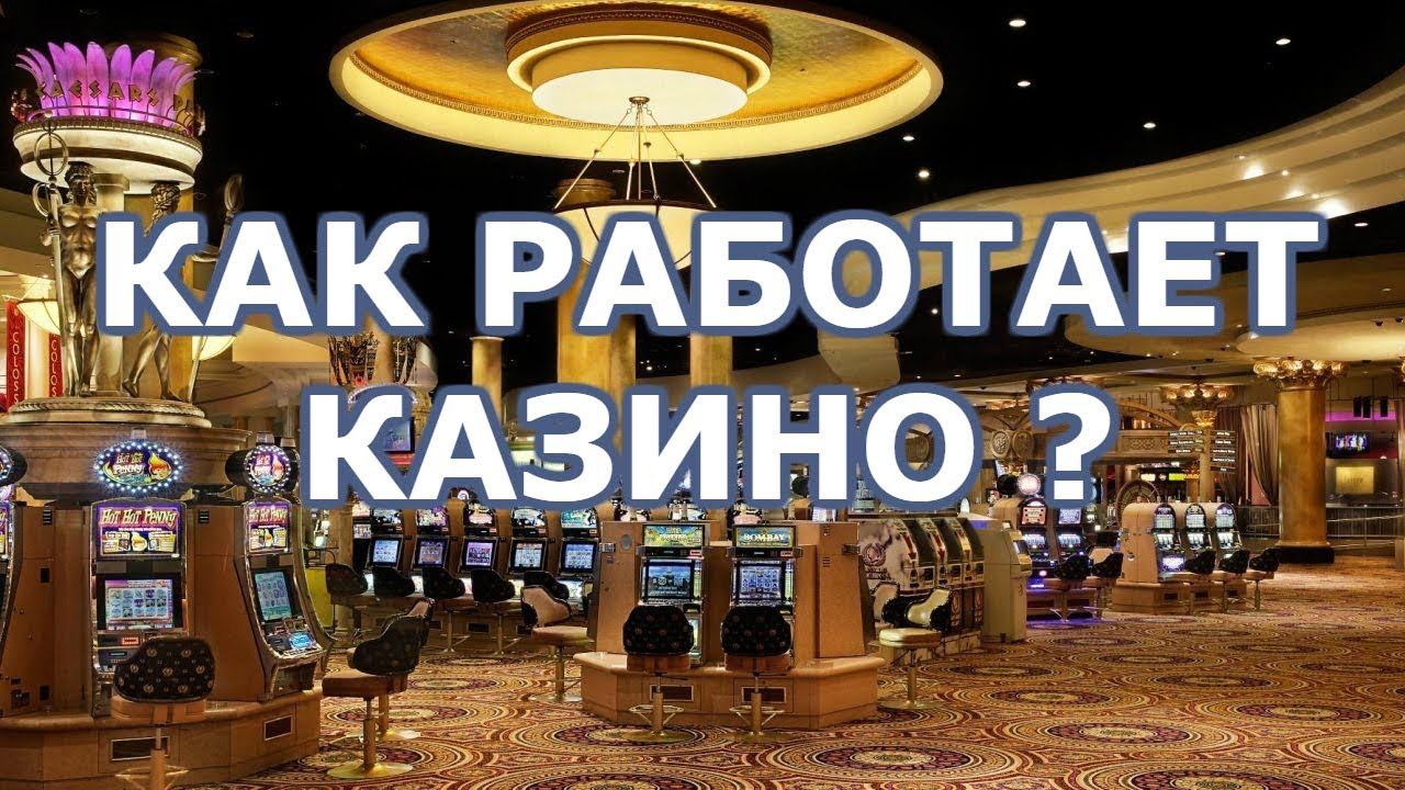 как работает интернет казино