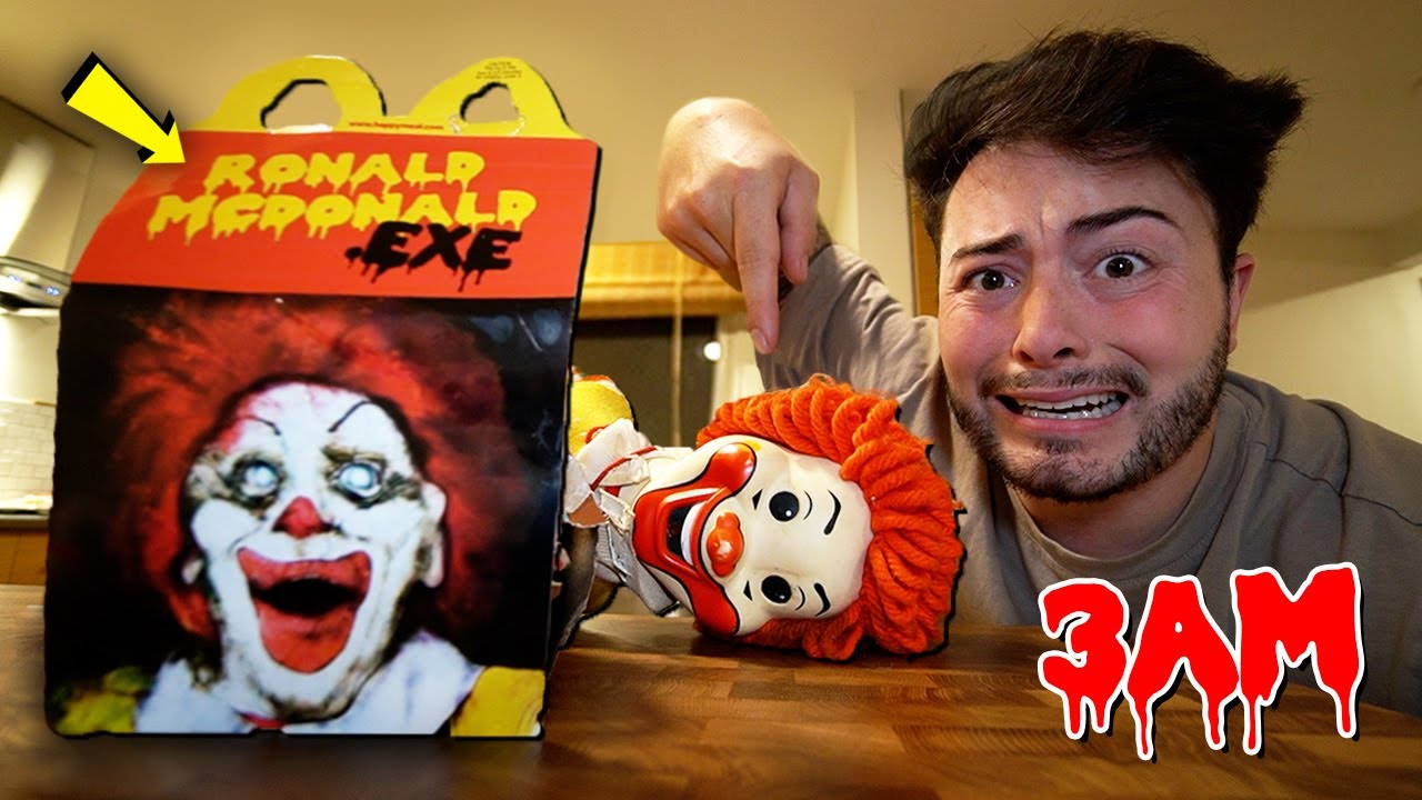 Download DO NOT ORDER RONALD MCDONALD HAPPY MEAL FROM MCDONALDS AT 3 AM! (SCARY)