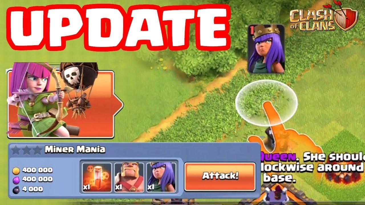 CHẾ ĐỘ CHƠI MỚI – Clash of clans UPDATE – NEW Game Mode!