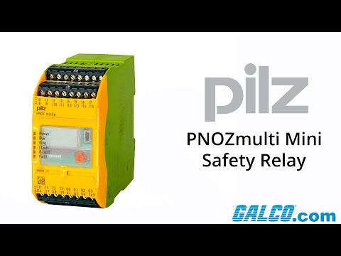Pilz PNOZmulti Mini series of safety relays