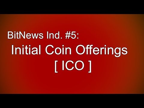 BitNews India #05: Initial Coin Offering[ICO]