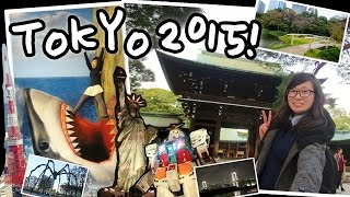 TOKYO SOLO FEMALE TRAVEL 2015! (ft. Tokyo's Best Attractions)