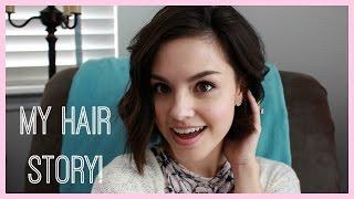 My Hair Story: My Cut, Postpartum Hair Loss Experience & More!   RACHEL WEILAND
