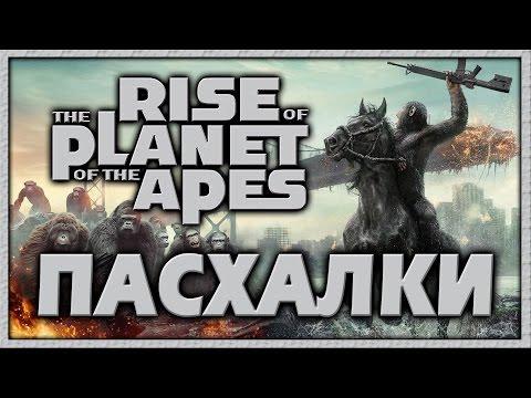 Пасхалки в фильме Восстание планеты обезьян / Rise of the Planet of the Apes [Easter Eggs]