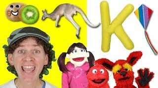 Letter K | Today's Letter Song with Matt and Friends | Preschool, Kindergarten, Learn English