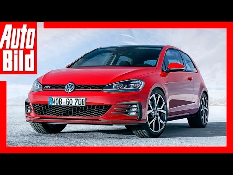 vw golf 7 gti facelift 2017 details review test youtube. Black Bedroom Furniture Sets. Home Design Ideas