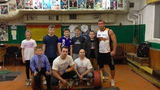 Dmitry Klokov - my first weightlifting gym / мой первый зал по ТА