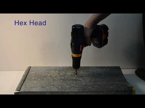 QuaDrive Self-Drilling and Tapping Screws