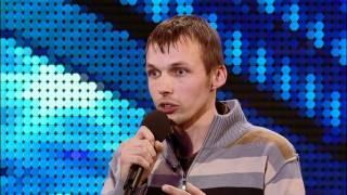 Comedian Gatis Kandis - Britain's Got Talent 2012 audition - International version