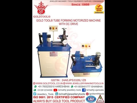 Gold & Silver Pipe Bali Making Machine by GOLD TOOL®  +91-9558401777 +91-9558002011