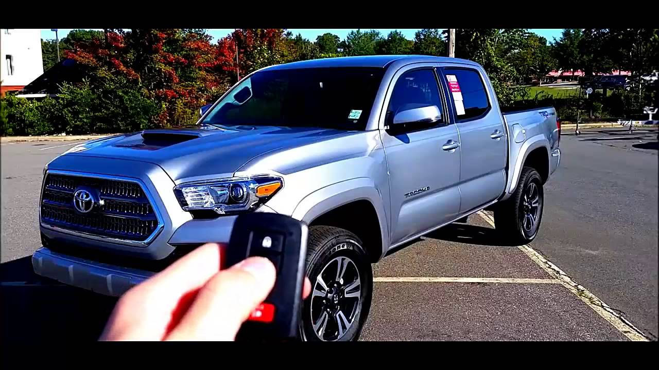 2016 toyota tacoma trd sport review youtube. Black Bedroom Furniture Sets. Home Design Ideas
