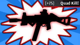 THIS IS THE BEST GUN IN ROBLOX PHANTOM FORCES *QUAD KILL!*