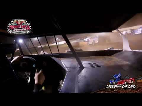 #23B Dalton Brown - Crate - 8-2-19 Ponderosa Speedway - In-Car Camera