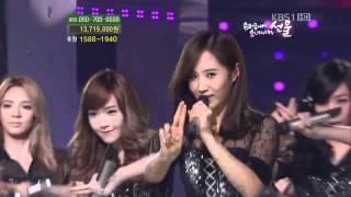 110917 - SNSD - Hoot @ KBS Love Request