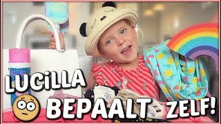 ALLES KOPEN WAT LUCiLLA AANRAAKT CHALLENGE 😱 | Lucilla Bellinga #90