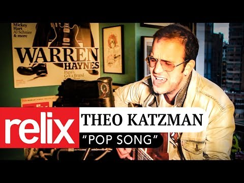 """Pop Song"" | Theo Katzman | 11/15/16 | Relix Studio Sessions"