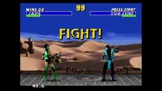 Прохождение Mortal kombat 3 Ultimate (Sega mega drive)