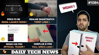 POCO F2 5G India Launch,Tencent 5G Gaming Phone,POCO X2 Android 11,Redmi K30 Pro Teaser,Realme Watch
