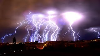 AMAZING Lighting Strikes COMPILATION!