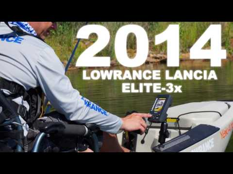 Lowrance Elite-3x Launch Video (IT)