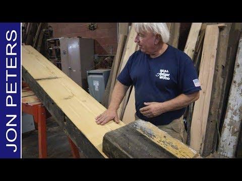 Hidden Treasure, Real Antique Wood Reclaimed Lumber Mill