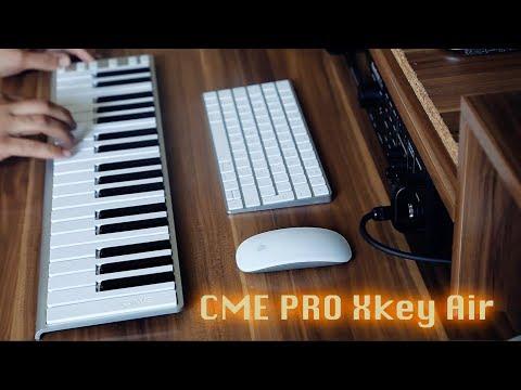 Bluetooth Midi Controller Keyboard (CME Pro Xkey-Air)