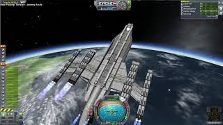 Kerbal Space Program 1.4 - Testing with My Most Complicated Stock Ship