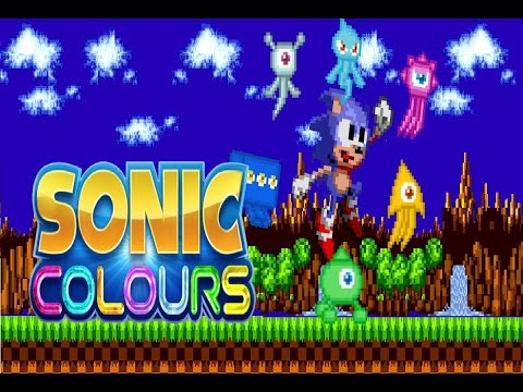 Minecraft Exploration with Colors Sonic
