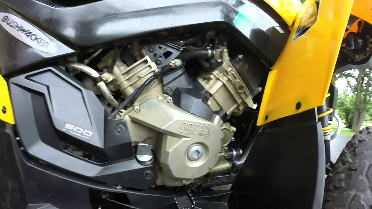 Can Am Renegade G2 Oil Change Youtube