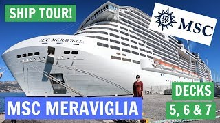 In this video, we tour the MSC Meraviglia. The MSC Meraviglia was l...