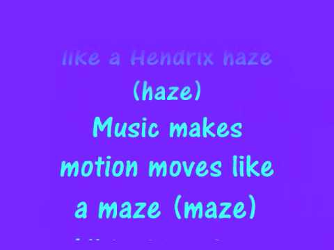 Groove is in the Heart With Lyrics