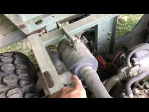 john deere gator lift dump installation confusion