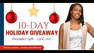 (CLOSED) Huge 10-Day Holiday Giveaway - Cash, Gift Cards, Shopping Sprees, and More!