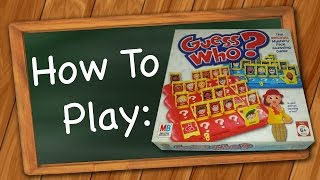 How to Play: Guess Who?