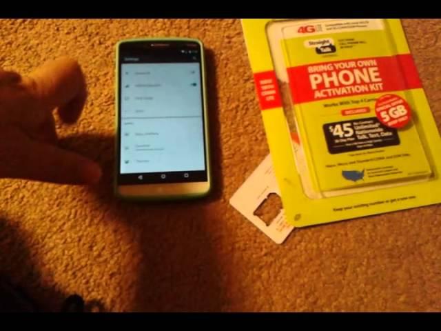 Straight Talk Verizon 4G LTE Sim Card APN Setting