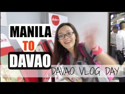 [VLOG] MANILA TO DAVAO | Davao DAY 1❤️