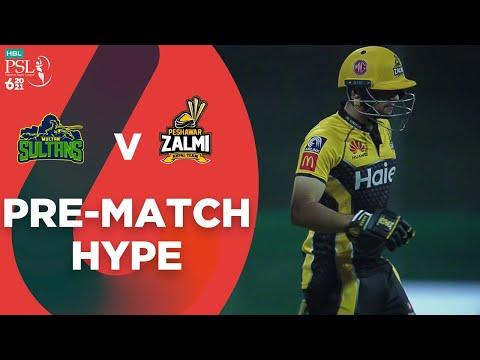 Pre-Match Hype | Peshawar Zalmi vs Multan Sultans | Match 21 | HBL PSL 6 | MG2T