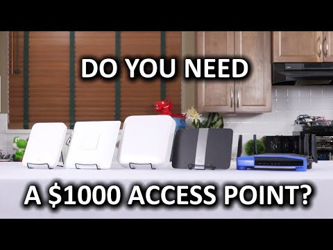 Would YOU Buy a $1000 Wireless Router?? Ruckus R700 Enterprise Access Point