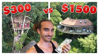 $300 Vs $1500 Treehouse Vacation