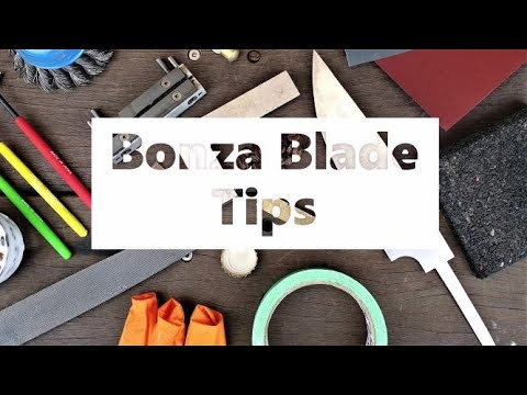 How to fit knife scales.Troy Hageman's Bonza Blade Tip, Send Me your knife tips
