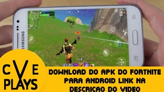 DOWNLOAD THE FORTNITE APK FOR ANDROID LINK IN THE VIDEO DESCRIPTION