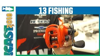 13 Fishing Concept ''Z3'' Casting Reel | iCast 2018