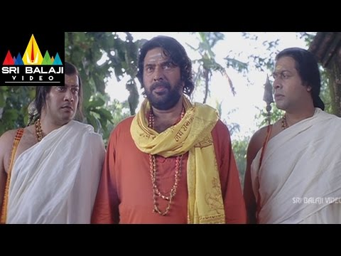 Dronacharya Movie Mammotty Enterring in Gadwal Fort | Mammootty, Navya Nair | Sri Balaji Video