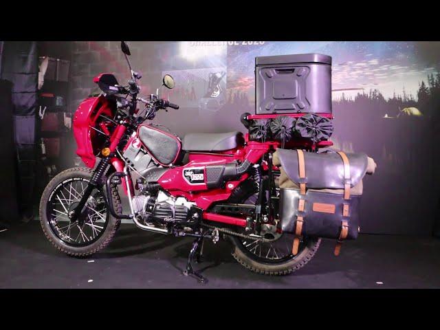 เฟี้ยวดี!แต่งรถ Honda CT 125 ในสไตล์รถเดินทางไกลได้ถึง80วัน ของMotolord