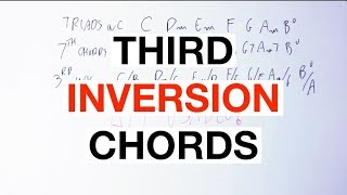 The MAGIC Of Third Inversion Chords [Chord Progression Music Theory]