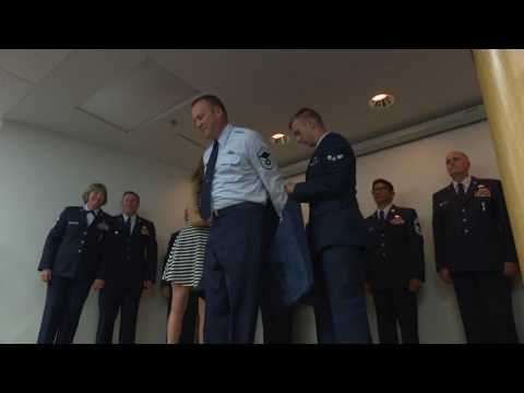 Husband And Wife Promoted To Chief Master Sgt.
