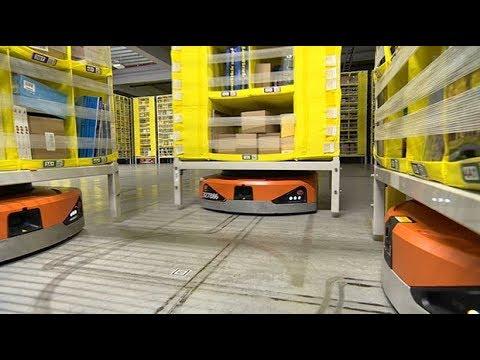 .亞馬遜倉庫裡的「小革命」:服務好機器人,才能讓人類更安全